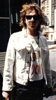 Michael Hutchence of INXS - San Francisco, 1986